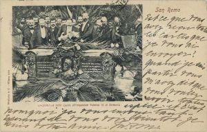 Cartolina commemorativa dell'evento