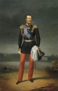 Lo Zar Alessandro II nel 1856