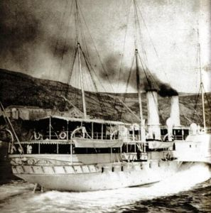 Lo Yacht Imperiale nel 1890