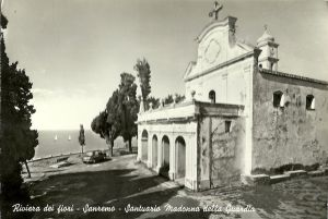 Church and portico in the 60s