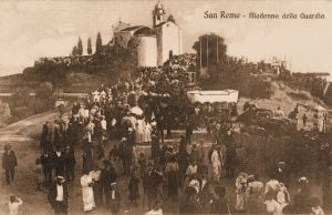 1910 - Religious feast near the Sanctuary
