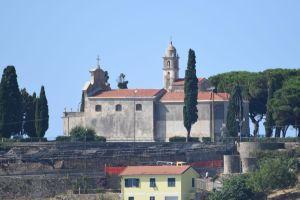 View of the Sanctuary of the Madonna della Guardia