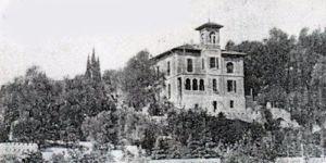 Villa Åberg appena costruita