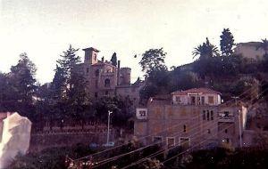 La Villa vista dalla funivia nel 1968