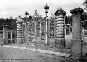 La Cancellata d'ingresso al Parco della Villa