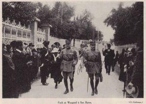 I Marescialli francesi Foch e Weygand