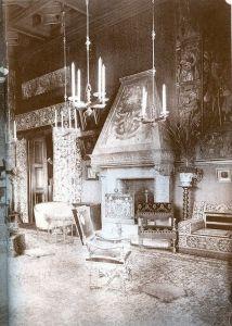 Salone col Camino 1890