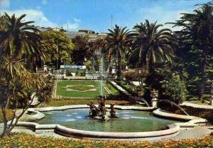 I giardini e le fontane sottostrada