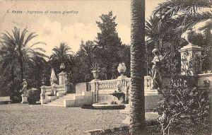 Ingresso ai Giardini negli anni '30